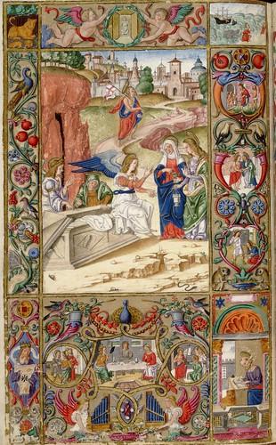 017-Oficios de la semana-Andrea Matteo Acquaviva- Sur de Italia 1519- HM 1046 Huntington Library