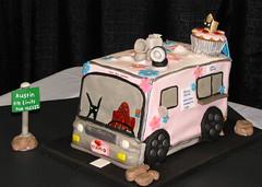 Super Hero Cupcake Truck
