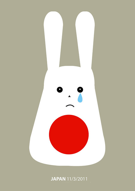 sad totoro-like manga(japan tsunami)