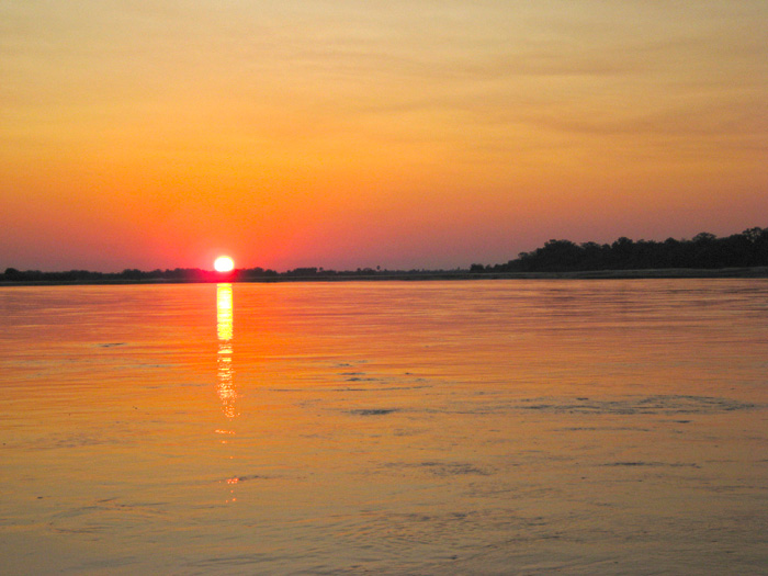 Rufiji River, Selous Sunset