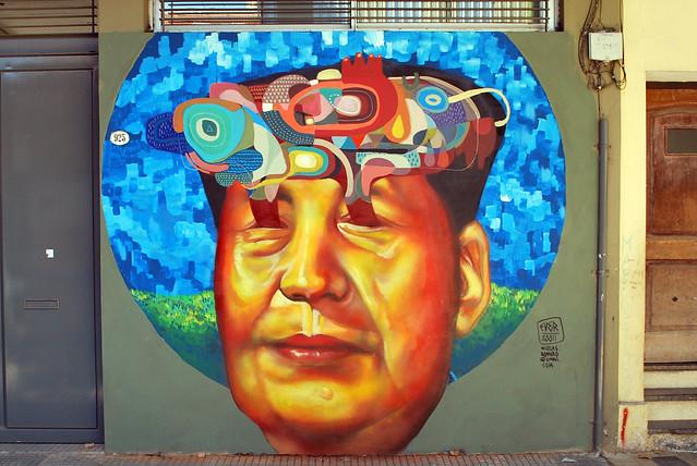 china urban art sol argentina graffiti buenos aires villa mao aerosol comunismo tse crespo supermercado tung padilla pinceles abstraccion