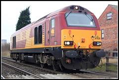 67028 (Zippy's Revenge) Tags: train warrington crossing diesel rail railway locomotive skip dbs ews lightengine class67 penketh englishwelshandscottish 67028 dbschenker