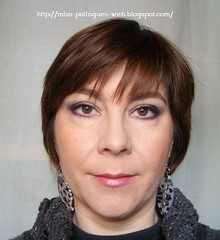 Look Blue Smokey Inglot frontal blog