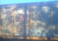 (RealestForreal) Tags: train graffiti freight graffititrain graffitifreight realestforreal