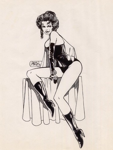 Black Queen Jean Grey by John Byrne