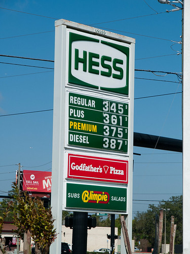 Orlando gas prices 17 March 2011