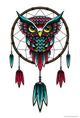 Dreamcatcher (skllzstudios) Tags: illustration dreams owl vector dreamcatcher
