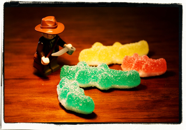 Indiana Jones and the Sugar Crocodiles