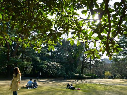 庭園の午後