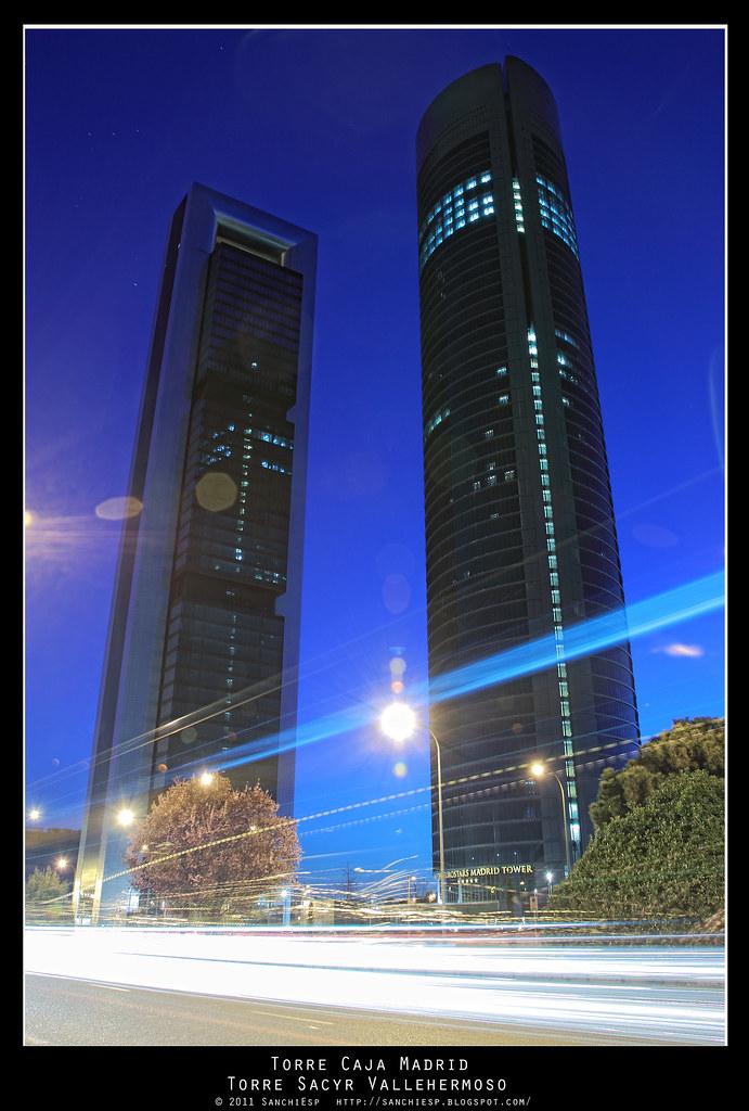 torres caja madrid y sacyr sanchiesp tags madrid night canon four hotel torre