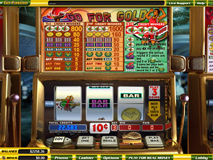 Go for Gold slot game online review