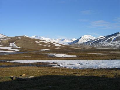 The scenery around Passhytte