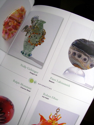 """Beacon"" focal in Lammaga Japanese glass magazine"