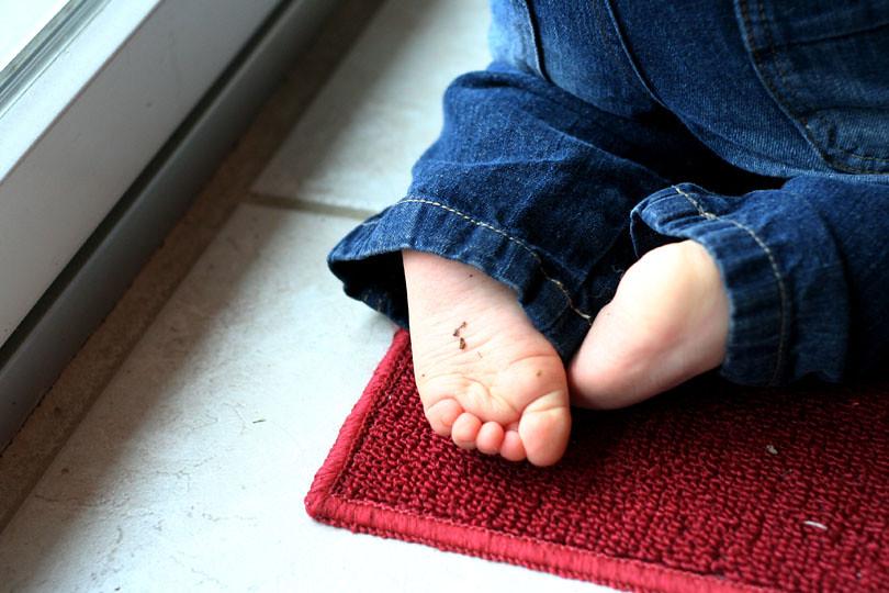 Ben's feet