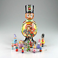 First Love Russian Christmas Ornaments Doll (The Russian Store) Tags: trs matrioshka matryoshka russiannestingdolls  stackingdoll  russianstore  russiangifts  russiancollectibledolls shoprussian