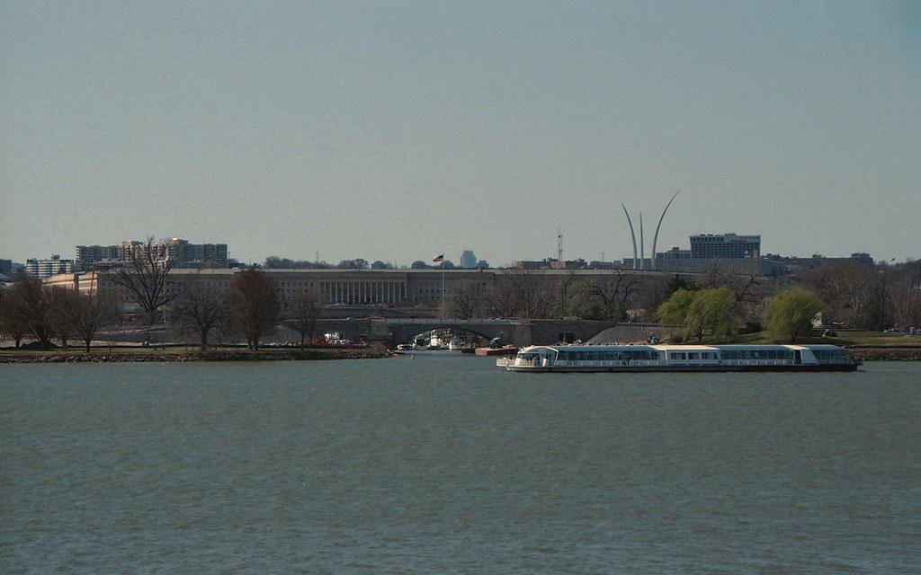Pentagon, Tidal Basin view, Washington D.C.