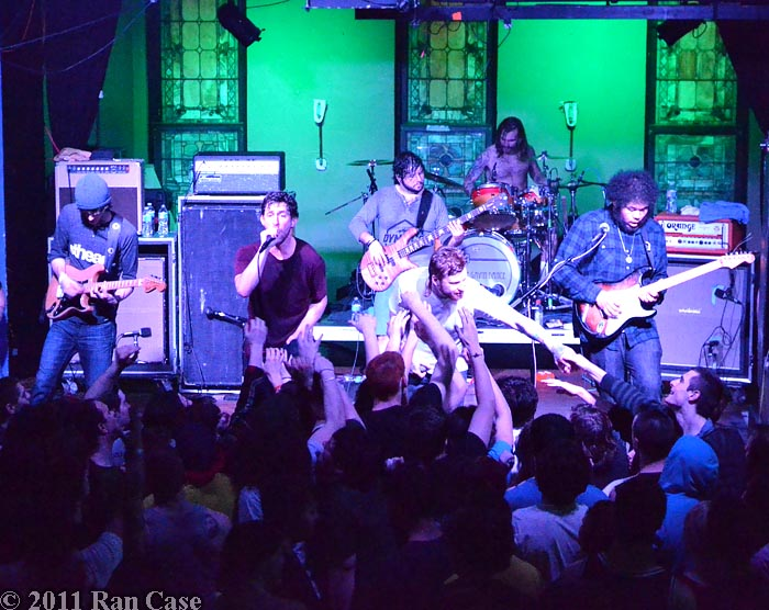 Dance Gavin Dance @ Altar Bar, Pittsburgh @2011 Ran Case