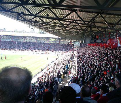 Union Berlin gegen Bielefeld, 20.03.2011 - 3