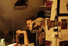 (Marine - D) Tags: portrait man color colors digital poster mirror miroir numérique couleur homme affiche