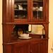 Abby & Frank's Reclaimed Oak Corner Cabinet