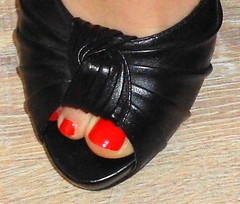 Heike (Darko83) Tags: sexy feet female toes highheels sandals fishnet mature heels milf mules pantyhose soles toenails footfetish nylons sexytoes drscholls sweetfeet sexyfeet femalefeet drscholl scholls maturefeet wrinkledsoles sssefsse drscholls