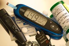 TOOLS OF THE TRADE (Back Road Photography (Kevin W. Jerrell)) Tags: macro health medicine awareness diabetic diabetes sigmalens glucometer nikond60 type2diabetes medalert kjerrellimages
