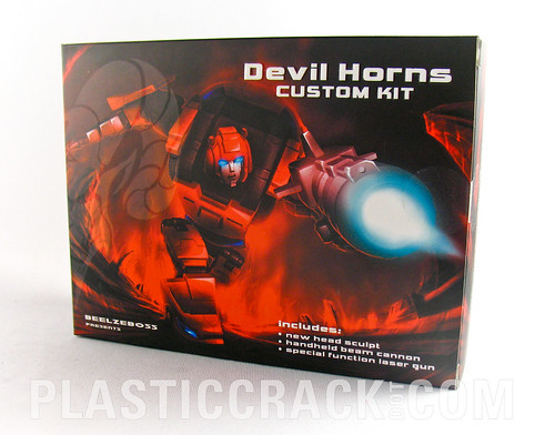 Beelzeboss' Devil Horns Custom Kit