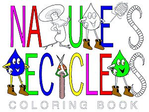 Nature's Recyclers Coloring Book