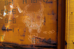 OTHER (TRUE 2 DEATH) Tags: railroad streetart train graffiti other tag graf railcar boxcar railways hobo railfan freight freighttrain bsm moniker 0500 hobotag hobomoniker benching freighttraingraffiti