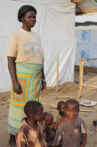 Mariet, aged 30, a refugee from Ivory Coast, now in Liberia