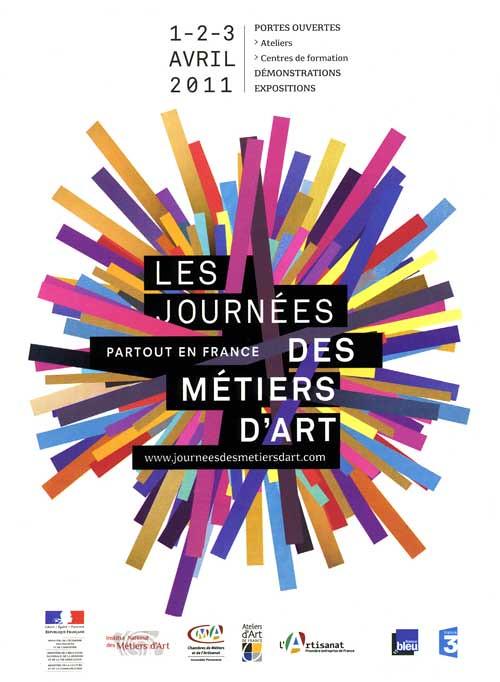 Flyer Journée Nationale des Métiers D'Art
