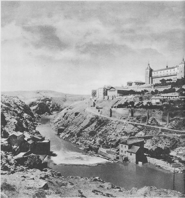 Torno del Tajo hacia 1925. Fotograbado de Friedrich Christiansen