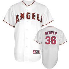 Los Angeles Angels of Anaheim #36 Jered Weaver White Jersey (Terasa2008) Tags: jersey losangelesangels  cheapjerseyswholesale cheapmlbjerseys mlbjerseysfromchina mlbjerseysforsale cheaplosangelesangelsjerseys