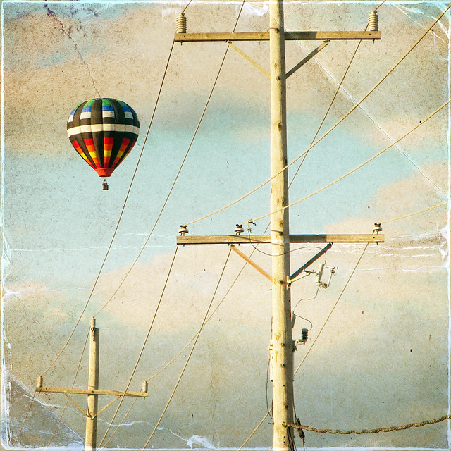 hot air balloon {1}