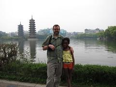 Guilin pagoda's.