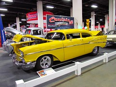2011 World of Wheels in Boston (mike01905) Tags: worldofwheels boston 2011worldofwheels 1957 chevrolet chevy 210