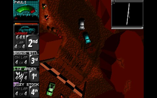 Death Rally (original DOS-version)