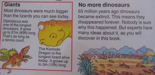 Where Did Dinosaurs Go?  Page 2