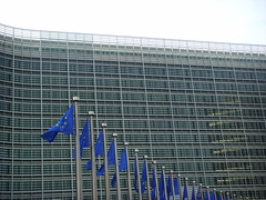 EU Open Day - The Flags outside Berlaymont