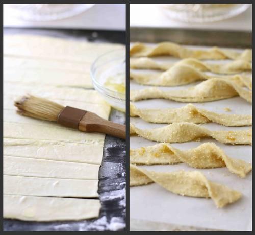 Lemon Sugar Puff Pastry Twists Recipe Cookin Canuck