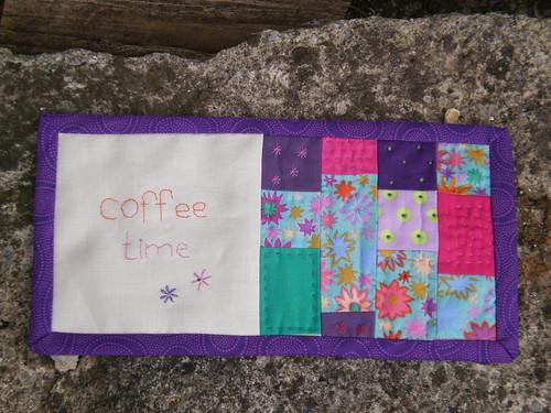 Mug rug by Textile-tally