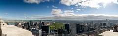 Centralpark-Panorama (muddii) Tags: park new york nyc panorama ny rock observation top centralpark central center deck rockefeller topoftherock