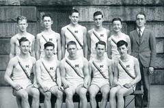 Track - 1937 - Seniors (BC High Archives) Tags: track 1937 1930s leahyedward teamphoto harkins fosterrichard murphythomas kennedyjames jakul shortall macneiljohn mullenjoseph dunnrobert galliganthomas