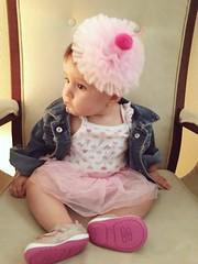 CK tutu1 (Victoria's Style) Tags: gente people baby babygirl supercutebaby pinktutu pinkcupcakeheadband tiara diadema hobbylobby calvinklein outfit oshkosh target payless macys babyin modadebebe beautiful cheeks