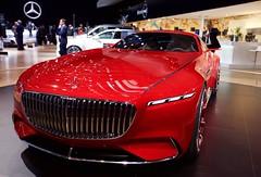 Mercedes Maybach 6 vision (Jean Lonard Polo) Tags: canon5d roadster hautdegamme luxe conceptcar rouge voiture car vision maybach6 maybach mercedes