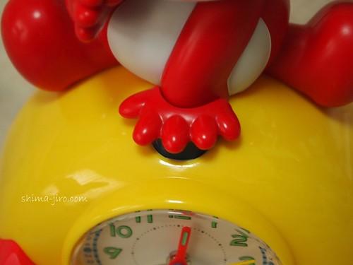目覚ましコラショ セットボタン