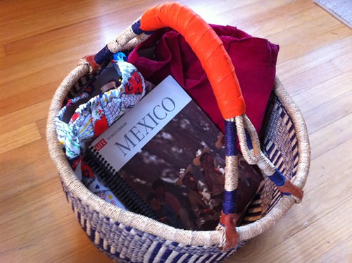 my craft project basket