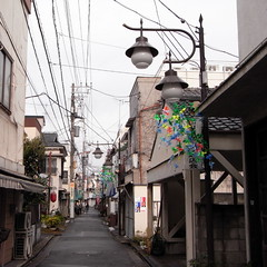 Nishimachi Shopping Street at Kanegafuchi