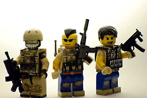 Custom minifig Task Force 141