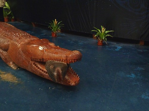 Wooden Crocodile